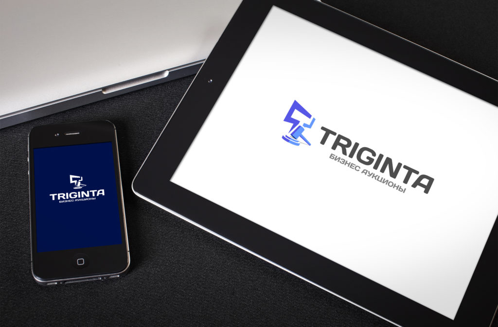 Логотип безнес-аукционов «Тригинта»