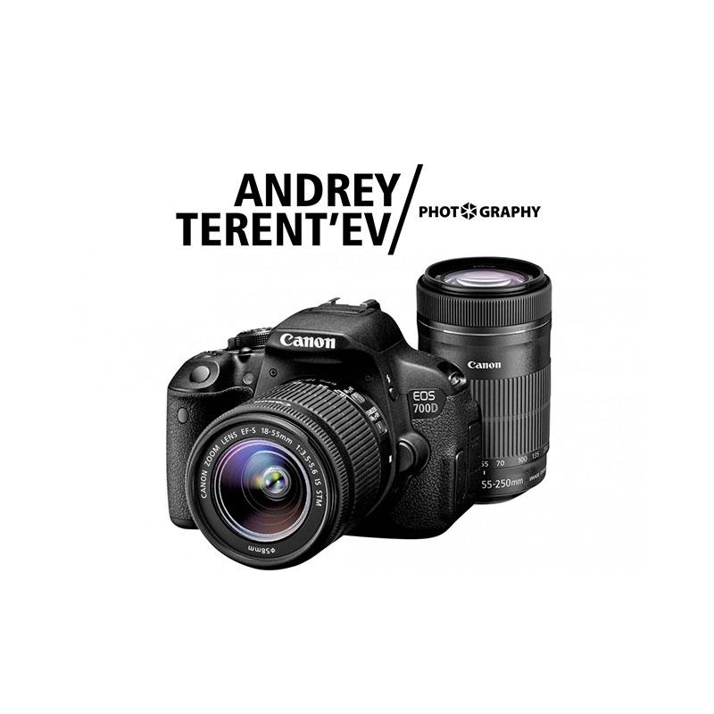 Логотип фотографа Андрея Терентьева - Студия D8: http://design8.ru/andrey-terentjev.html